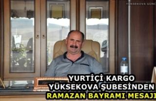 Yurtiçi Kargo Yüksekova Şubesinden Ramazan Bayramı...