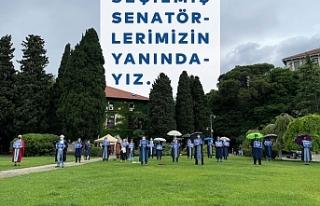 Boğaziçili hocalar: Senato gasp ediliyor