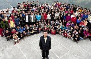 'Dünyanın en kalabalık ailesi'ne sahip...