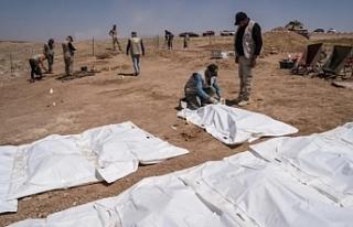 IŞİD'in katlettiği yüzlerce Şii'nin...