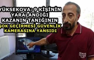 Yüksekova: 9 Kişinin Yaralandığı Kazanın Tanığının...