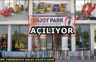 Yüksekova'da Enjoy Park & Çocuk Oyunları...