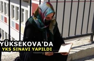 Yüksekova'da YKS Sınavı Yapıldı