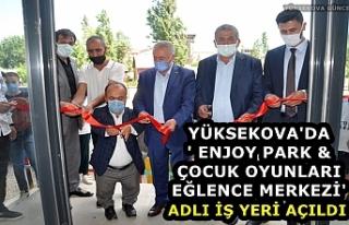 Yüksekova'da ' Enjoy Park & Çocuk...