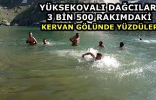 Yüksekovalı Dağcılar 3 Bin 500 Rakımdaki Kervan...