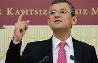 CHP'li Özel: Erken seçim Erdoğan'ın iktidarını...