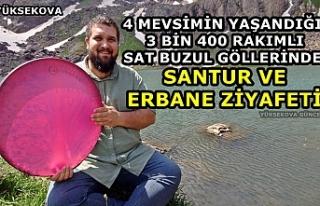 Yüksekova: 3 Bin 400 Rakımlı Sat Buzul Göllerinde...