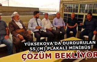 Yüksekova'da Faaliyetleri Durdurulan 55 (M) Plakalı...
