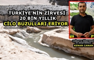 Türkiye'nin Zirvesi 20 Bin Yıllık Cilo Buzulları...