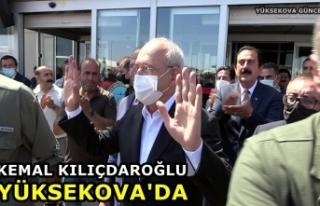 Kemal Kılıçdaroğlu Yüksekova'da