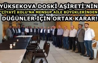 "Yüksekova Doski Aşireti'nin ""Çiyayî..."