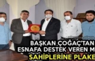 Başkan Çoğaç'tan Esnafa Destek Veren Mülk Sahiplerine...