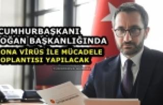 Cumhurbaşkanı Erdoğan başkanlığında korona...