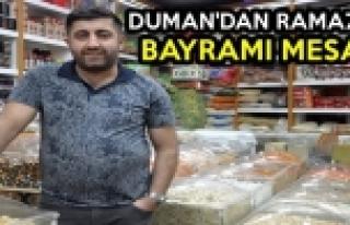 Duman'dan Ramazan Bayramı Mesajı
