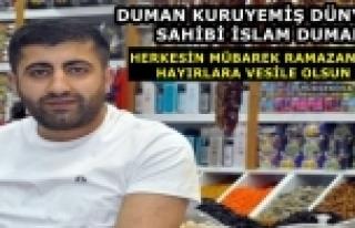 Esnaf Duman: Herkesin Mübarek Ramazan Ayı Mübarek...