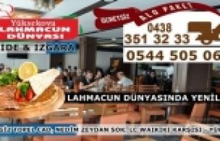Yüksekova Lahmacun Dünyası - Pide & Izgara
