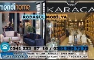Rodagül Mobilya - Mondi Home - Karaca Home - Yüksekova...