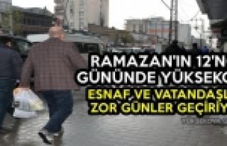 Ramazan'ın 12'nci Gününde Yüksekova: Esnaf...