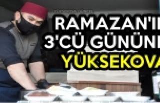 Ramazan'ın 3'cü Gününde Yüksekova