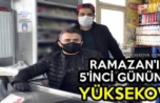 Ramazan'ın 5'inci Gününde Yüksekova