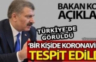 Sağlık Bakanı Koca: koronavirüs Türkiye'de Tespit...