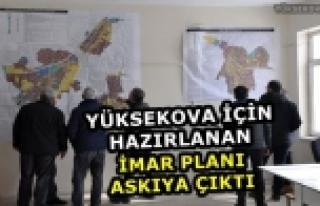 Yüksekova İçin Hazırlanan İmar Planı Askıya...