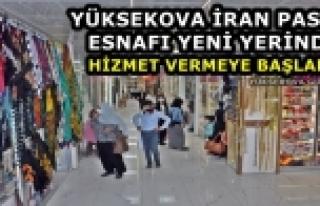 Yüksekova İran Pasajı Esnafı Yeni Yerinde Hizmet...