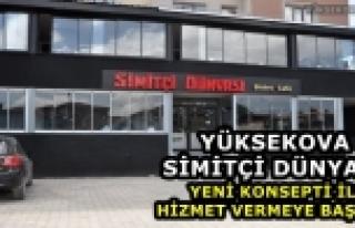 Yüksekova Simitçi Dünyası Yeni Konsepti İle Hizmete...