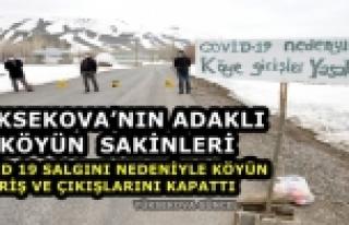 Yüksekova..! Tabela Asarak Köyü Giriş Çıkışlara...