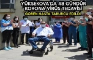 Yüksekova'da 48 Gündür Korona Virüs Tedavisi...