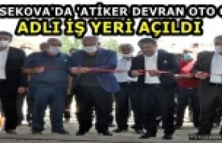 Yüksekova'da 'Atiker Devran Oto Gaz' Adlı iş Yeri...