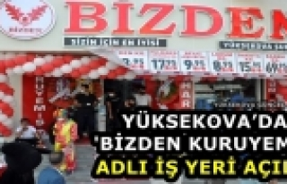 Yüksekova'da 'Bizden Kuruyemiş' Adlı İş Yeri...