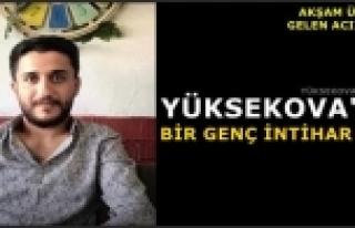 Yüksekova'da Bir Genç İntihar Etti