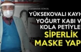 Yüksekovalı Kayhan, Yoğurt Kabı Ve Pet Şişeden...