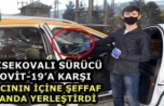 Yüksekova..! Covit-19'a Karşı Taksici'den...