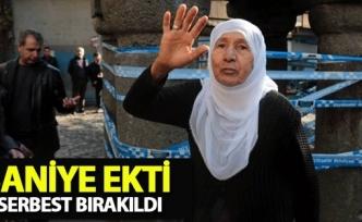 Saniye Ekti serbest bırakıldı
