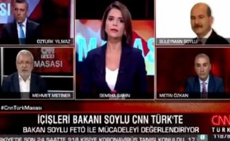 Süleyman Soylu ile Mehmet Metiner canlı yayında tartıştı