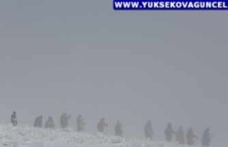 Yüksekovalı Kayakçılar, Zor Şartlara Rağmen Sevdalarından Vazgeçmiyor
