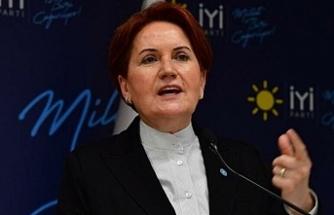 Akşener: Cumhurbaşkanı tarafından tehdit edilmek feci