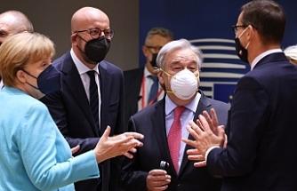 Merkel: AB liderleri göç anlaşmasında Türkiye'ye 3 milyar euro verilmesinde uzlaştı