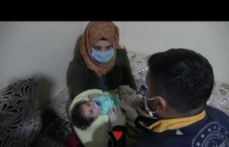 7 Aylık Abdurrahim Bebek 4 saatte Kurtarıldı - Yüksekova