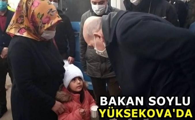 Bakan Soylu Yüksekova'daydı