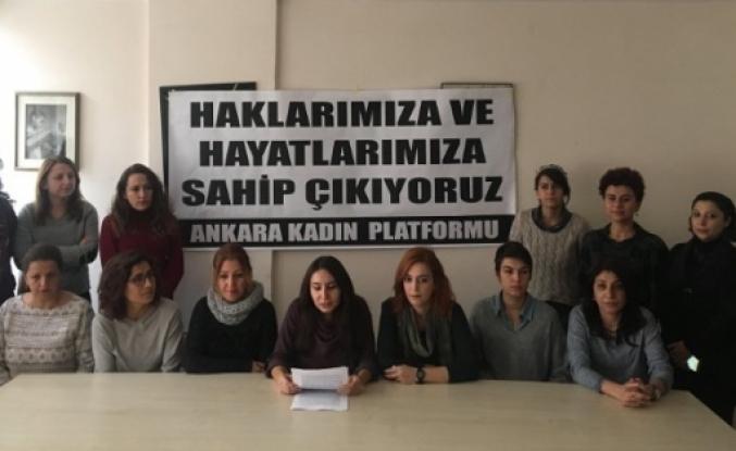 Ankaralı kadınlar şiddete karşı toplanacak