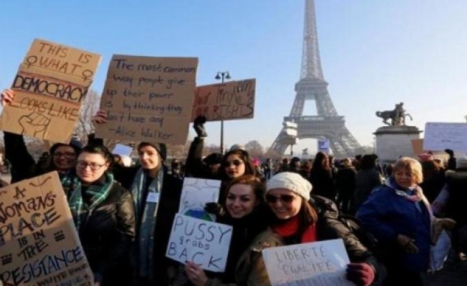 Fransa'da her sekiz kadından biri tecavüze uğradı