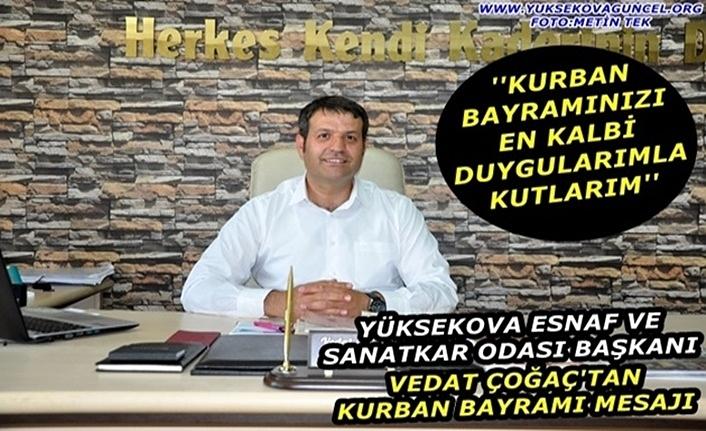 Başkan Çoğaç'tan Kurban Bayramı Mesajı