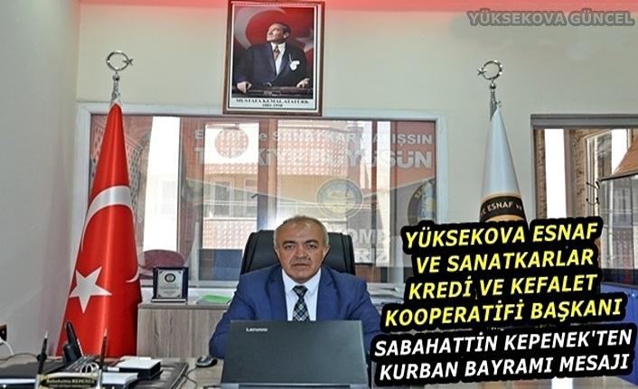Başkan Kepenek'ten Kurban Bayramı Mesajı