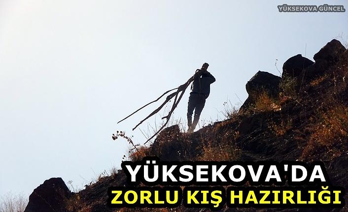 Yüksekova'da Zorlu Kış Hazırlığı