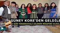 Güney Kore'den Geldiler, 2 Gün Yüksekovalı Ailenin Misafiri Oldular