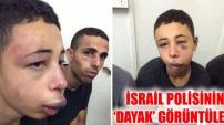 İsrail polisinin 'dayak' görüntüleri