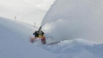 1 metreyi aşan kar